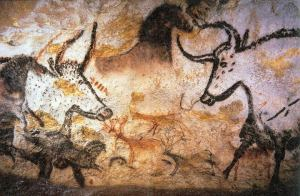 Photo of Lascaux painting by Prof saxx from wikipedia