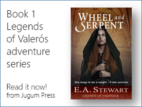 Wheel and Serpent by E.A. Stewart