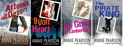 Rain City Series by Annie Pearson